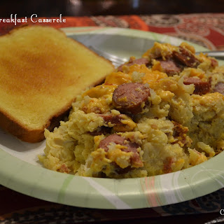 Crock Pot Breakfast Casserole.