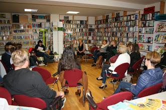 Photo: Freche Leserezepte - Workshop mit der großartigen Brigitte Weninger in der Zweisprachigen Bibliothek Kroatisch Minihof - am 5. Oktober 2016