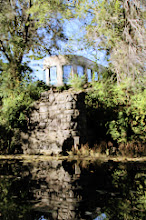 Photo: This is the remnant of the bridge that spanned Fishing River from the original Siloam Spring, now the site of the Hall of Waters.   When you are done (if you arrived through the website) close this window to return -or- go here www.visitexcelsior.com to learn more.  All photos by Kevin Morgan Excelsior Springs Missouri unless otherwise credited. All rights reserved.