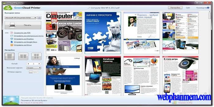 GreenCloud Printer Free Download