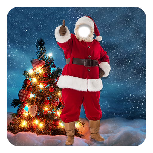 聖誕老人照片蒙太奇 攝影 App LOGO-APP試玩