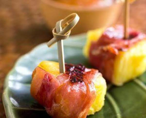 Prosciutto-wrapped Pineapple Bites Recipe