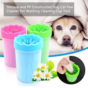 Dispozitiv din silicon pentru curatarea labutelor animalelor