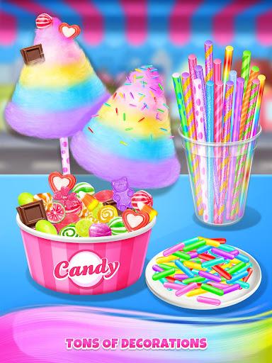 Carnival Fair Food - Sweet Rainbow Cotton Candy  captures d'écran 6
