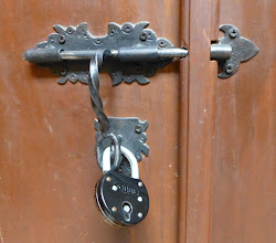 Photo: Casa del Aguila:  no magnetic card locks here.  Rooms lock with padlocks