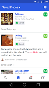 Foursquare - Best City Guide- screenshot thumbnail