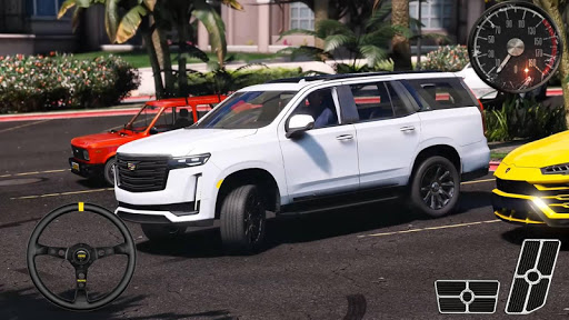 Parking Series Cadillac - Escalade SUV Simulator android2mod screenshots 2