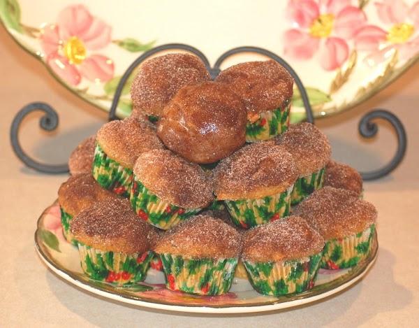 Pumpkin Spiced Donut Hole Mini Muffins Recipe