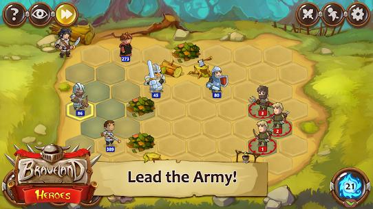 Braveland Battles Heroes MOD (Unlimited Money) 1
