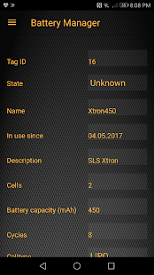 Battery Manager - Manage your RC batteries - náhled