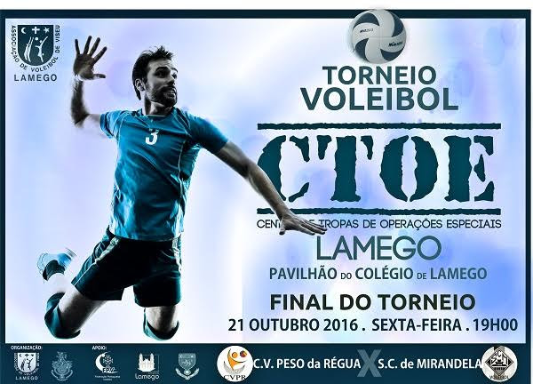 Final do Torneio de Voleibol – CTOE – Lamego – 2016
