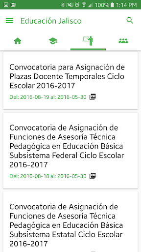 Educación Jalisco screenshot 4