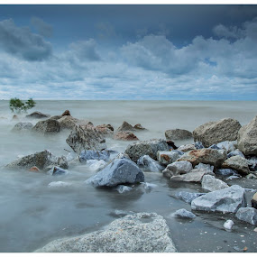 Pantai Jeram  by Coolvin Tan - Landscapes Waterscapes