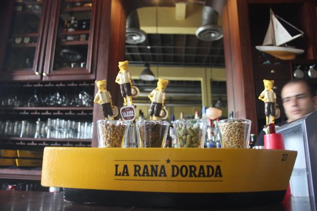 La Rana Dorada.