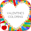 Adult Coloring: Valentines Day