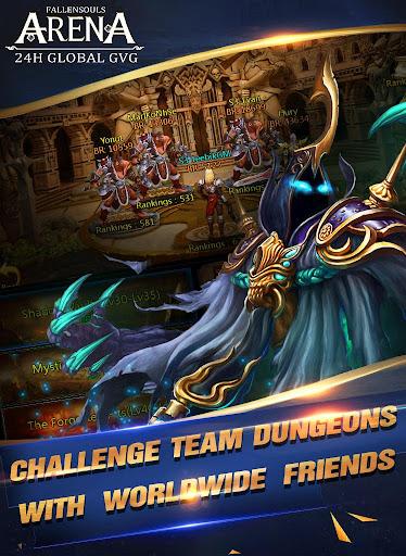 Fallen Souls - Dragon Battle screenshot 8