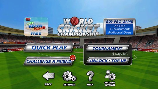 World Cricket Championship lt (MOD, Unlimited Money/Coins) Apk for Android 2