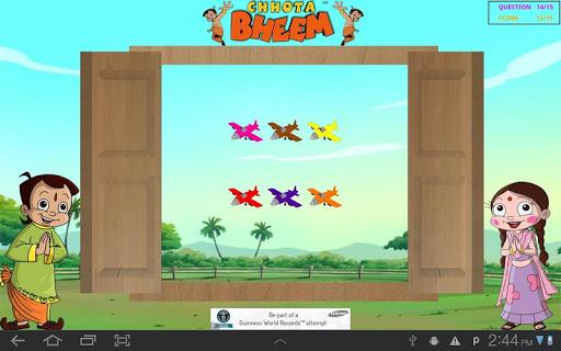 Window Game with Chhota Bheem