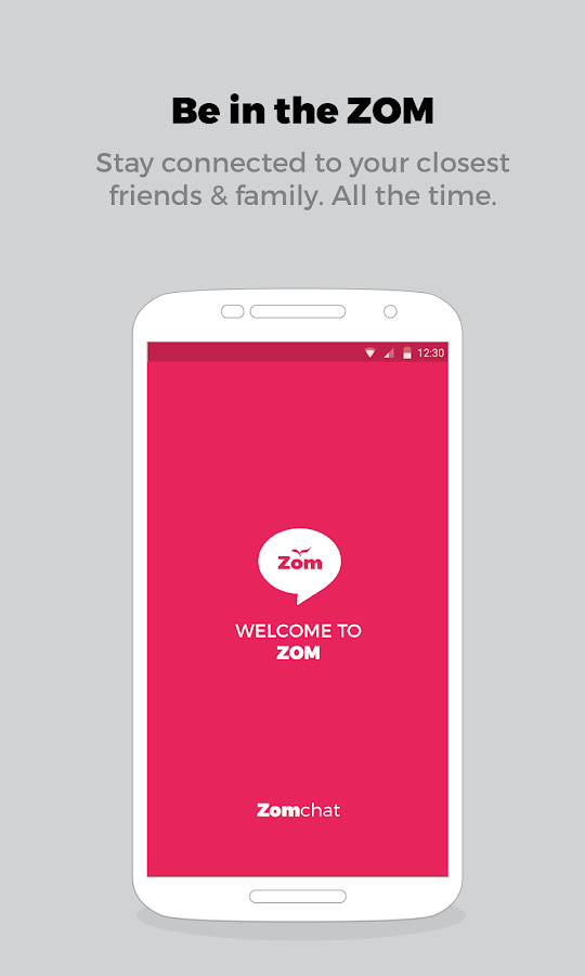 Zom Mobile Messenger- screenshot