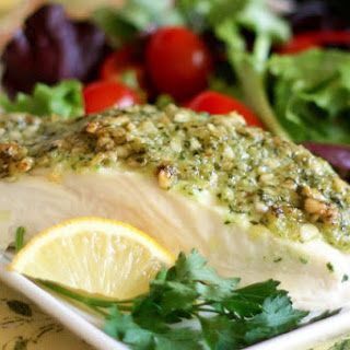 Nut Crusted Halibut Recipes.