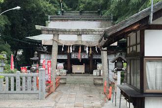 Photo: 大鳥大社内美波比神社
