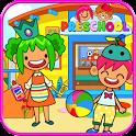 Pretend Preschool - Kids School Learning Games icon