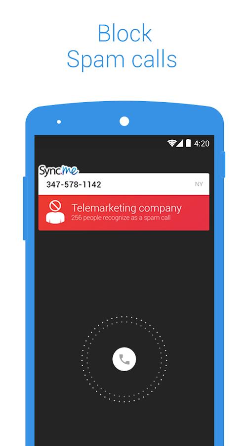 Sync.ME – Caller ID & Block- screenshot