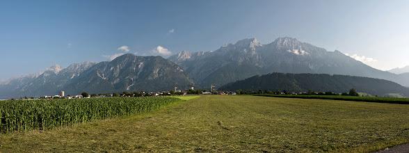 Photo: Panorama Karwendel (niem. Karwendelgebirge).
