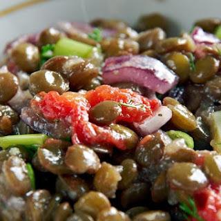 Spanish Lentil Salad.
