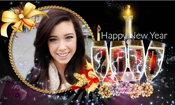 New Year Photo Frame 2017 APK screenshot thumbnail 2