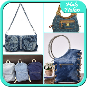 how to use jeans to make a bag