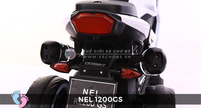 xe máy điện cho bé 3 bánh NEL-1200GS