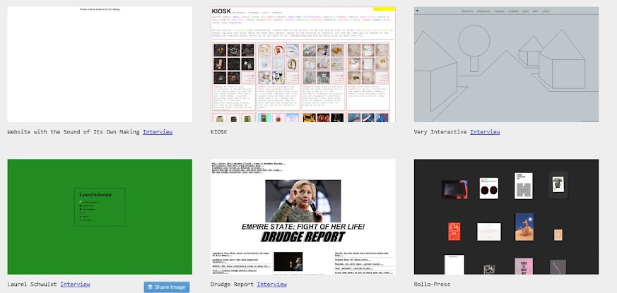 brutalist websites