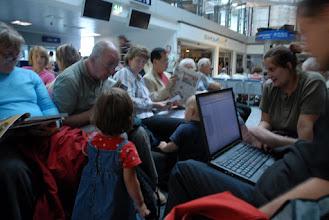 Photo: ciemności egipskie na lotnisku nastały...