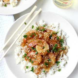 Honey Garlic Teriyaki Shrimp (15 Minutes!).