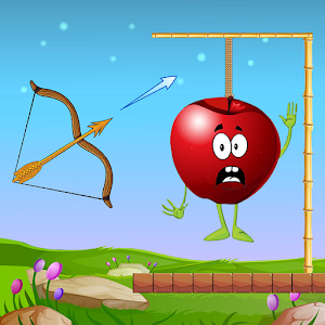 Apple Shootter Archery Play - Bow And Arrow
