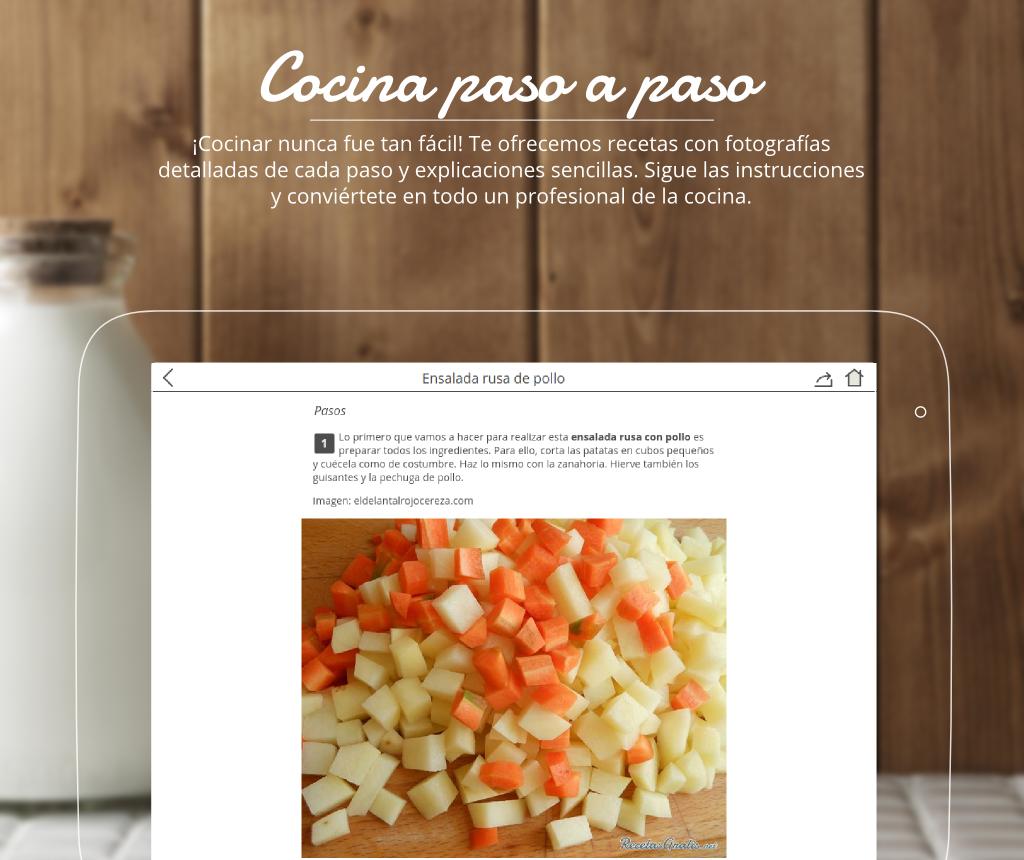 Recetas de cocina gratis aplicaciones de android en for Programa para amueblar cocinas gratis
