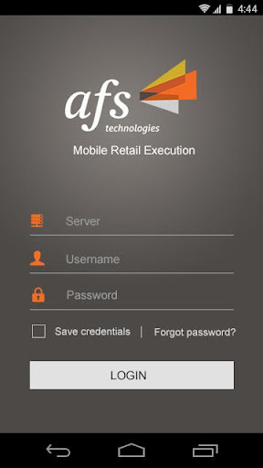 AFS Retail Execution 5.4