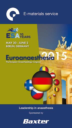 ESA E-materials 2015