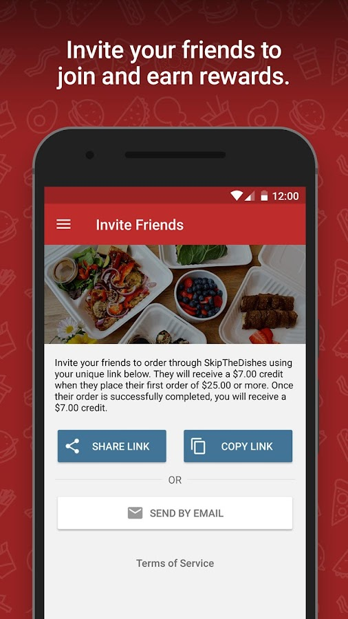 Skipthedishes Food Delivery