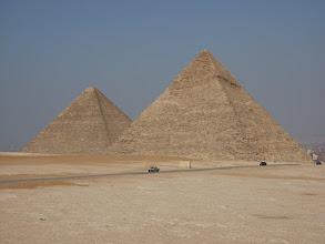 Photo: Kairo, Pyramiden von Gizeh