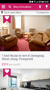 Glamorgan Student Lettings- screenshot thumbnail