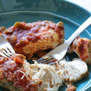 Instant Pot (Pressure Cooker) Easy Salsa Shredded Chicken.