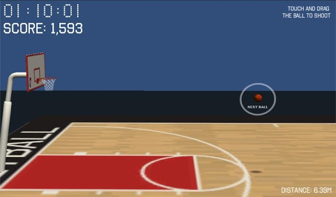 3D Basketball - screenshot