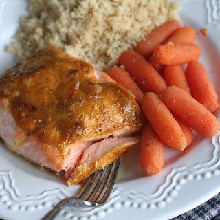 Sweet Curry Salmon.