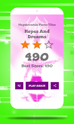 Megalovania Piano Tiles Game android2mod screenshots 6