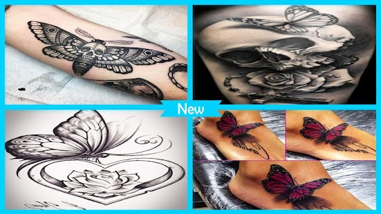 Epic Butterfly Tattoos Ideas - náhled