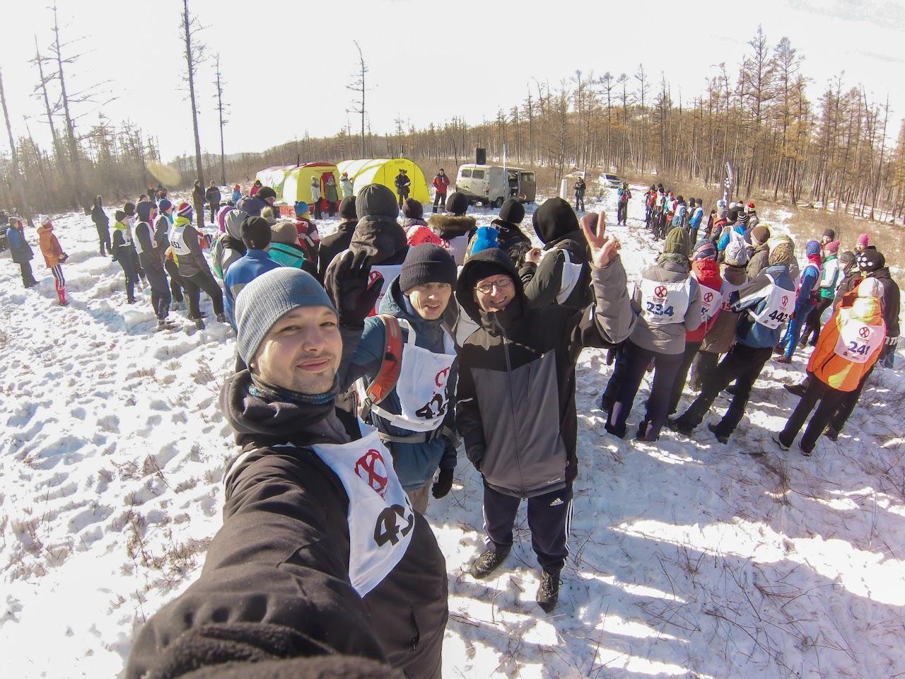 Общее построение участников скоростного восхождения Саранакан 2017