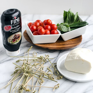 Mozzarella Tomato Basil Balsamic Vinegar Appetizer Recipes