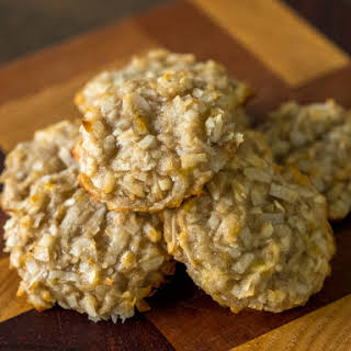 Banana Coconut Cookies.